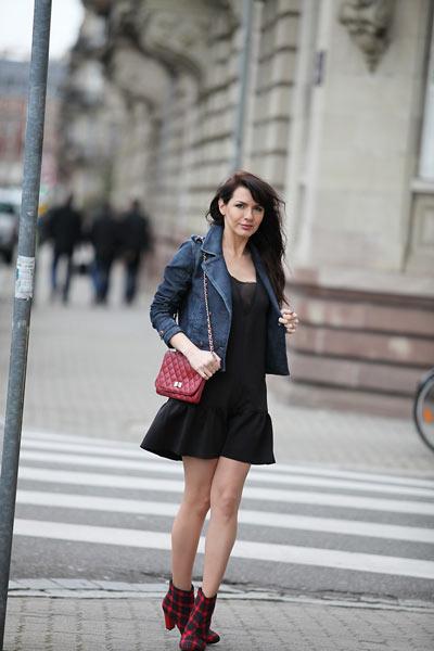 Robe noire pour occasion casual